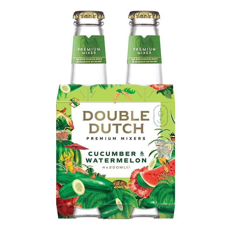 Cucumber & Watermelon Mixer 4 x 200ml