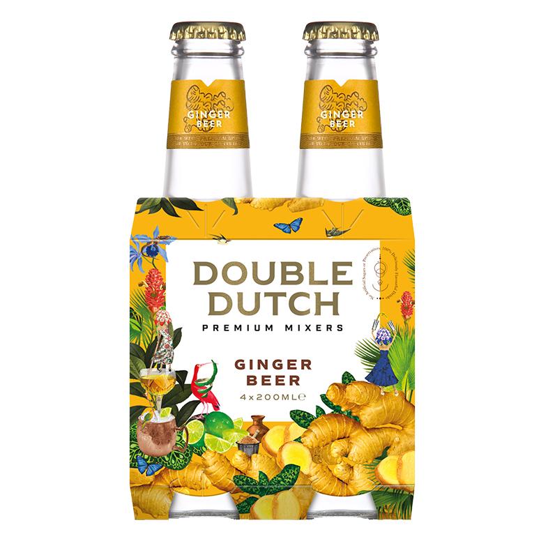 double dutch Ginger Beer 4 x 200ml