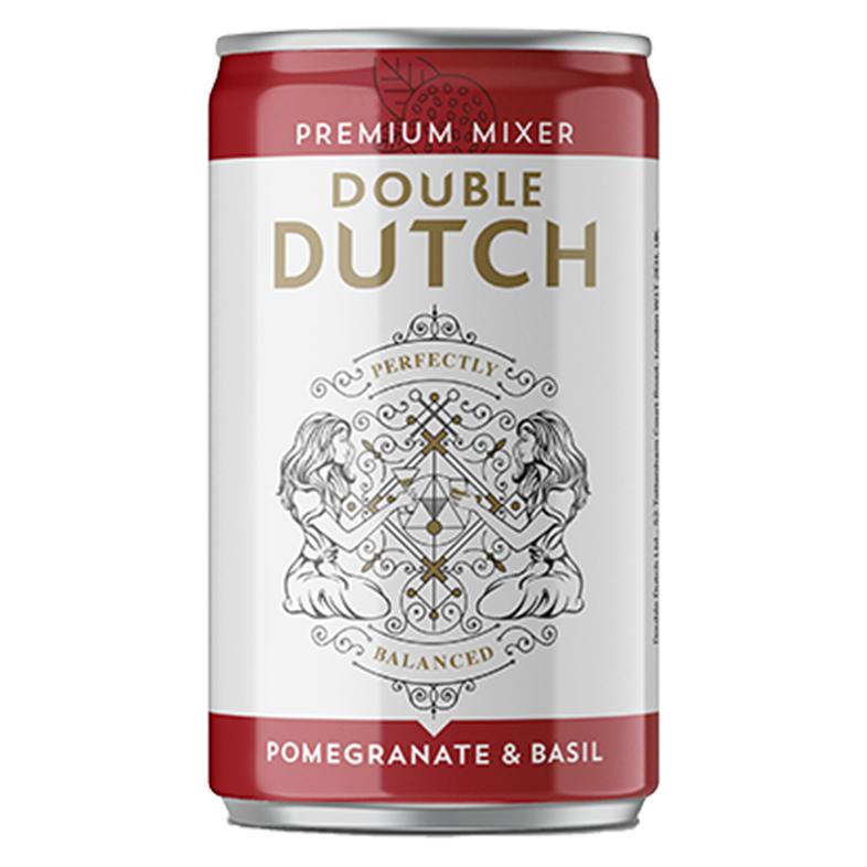 Double Dutch Pomegranate & Basil Mixer 150ml